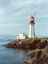 Sherringham Lighthouse Sooke